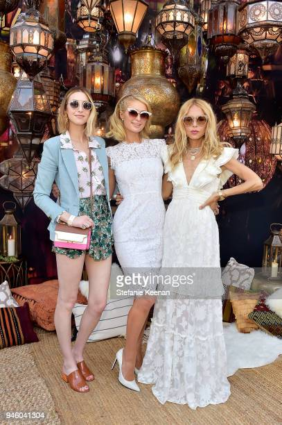 Whitney Port Paris Hilton and Rachel Zoe attend ZOEasis 2018 at Parker Palm Springs on April 13 2018 in Palm Springs California