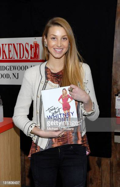 """Whitney Port promotes her new book """"True Whit"""" at Bookends Bookstore on February 2, 2011 in Ridgewood, New Jersey."""