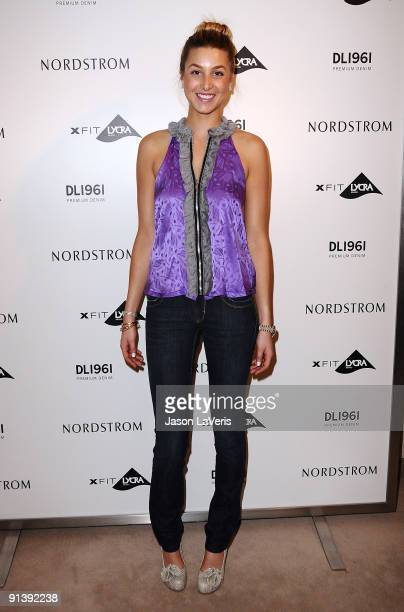 Whitney Port promotes the DL1961 Premium Denim Collection At Nordstrom South Coast Plaza on October 3, 2009 in Costa Mesa, California.