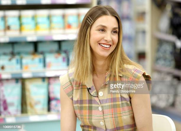 Whitney Port speaks during the Whitney Port Bundle Organics #MomAsYouAre buybuyBABY product launch on November 17 2018 in Torrance California on...