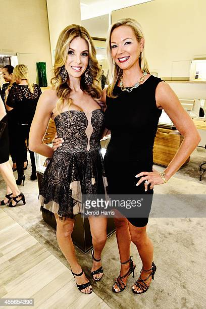 Whitney St Claire and Cate Gunn attend David Yurman with RIVIERA host an instore event to celebrate the 'Enduring Style' fall campaign on September...
