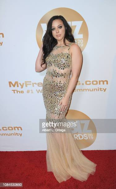 Whitney Wright arrives for the 2019 XBiz Awards held at The Westin Bonaventure Hotel Suites on January 17 2019 in Los Angeles California