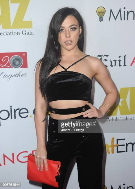 Whitney Wright arrives for XBiz's RISE Performer Appreciation Event held at 1 Oak on November 15 2017 in West Hollywood California