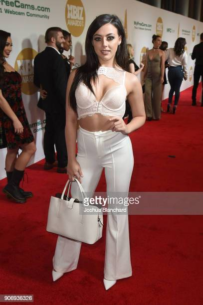 Whitney Wright attends the 2018 XBIZ Awards on January 18 2018 in Los Angeles California
