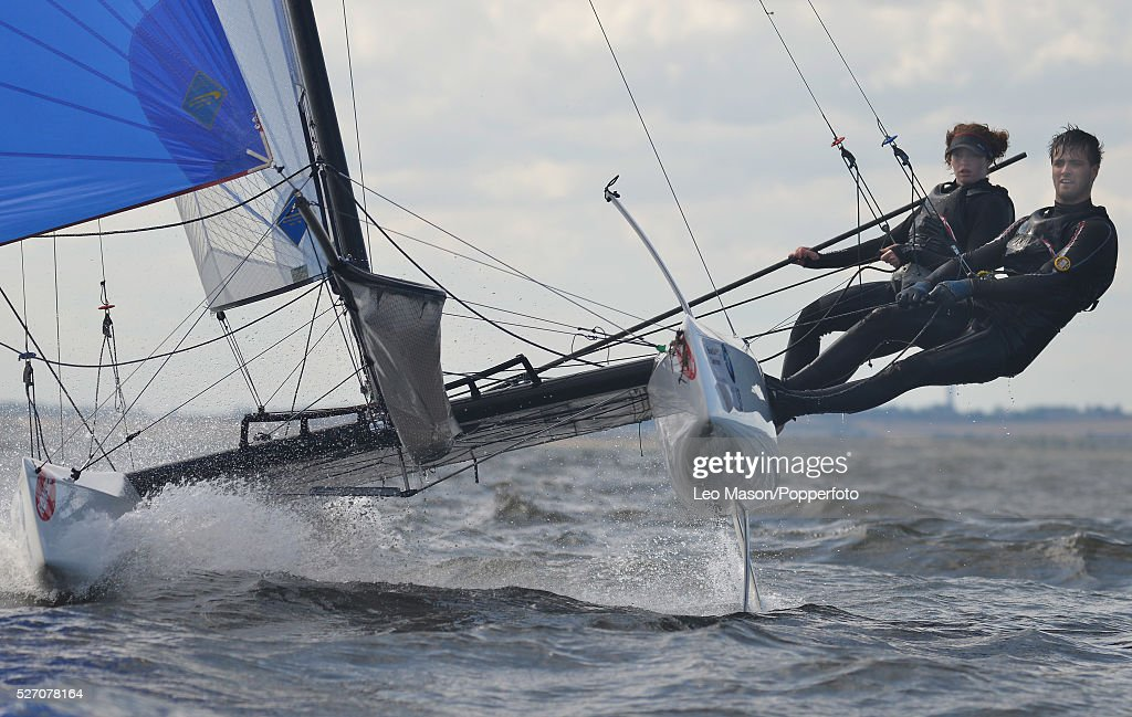 2013 Whitstable Yacht Club Sailing Week Whitstable Kent UK Laser & Catamaran class sailng : News Photo