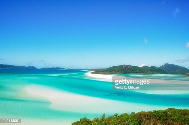 whitsunday island - whitsunday island stock photos and pictures