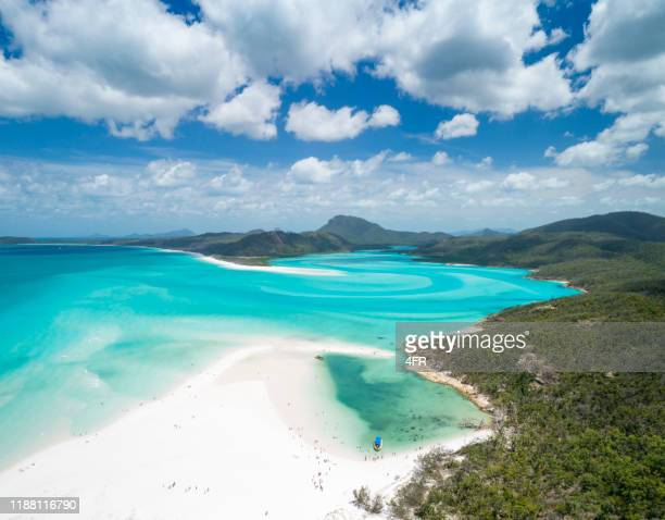 whitsunday islands, queensland, australia - pacific ocean stock pictures, royalty-free photos & images