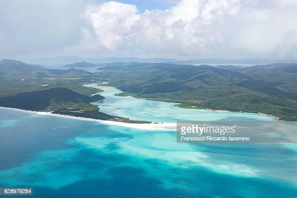 Whitsundays, Aerial view. Queensland, Australia