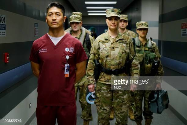 MED Who Knows What Tomorrow Brings Episode 507 Pictured Brian Tee as Dr Ethan Choi