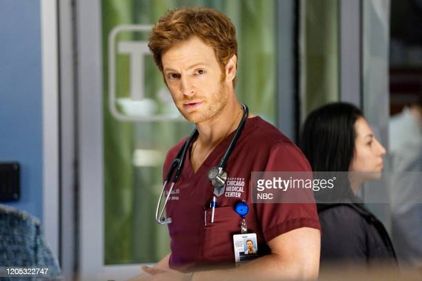 MED Who Knows What Tomorrow Brings Episode 507 Pictured Nick Gehlfuss as Dr Will Halstead