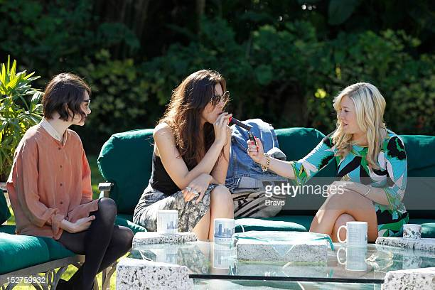 GIRLS 'Who Loves the Sun' Episode 106 Pictured Chantal Chadwick Claudia Martinez Amy Poliakoff Photo by Charles Trainor/Bravo/NBCu Photo Bank