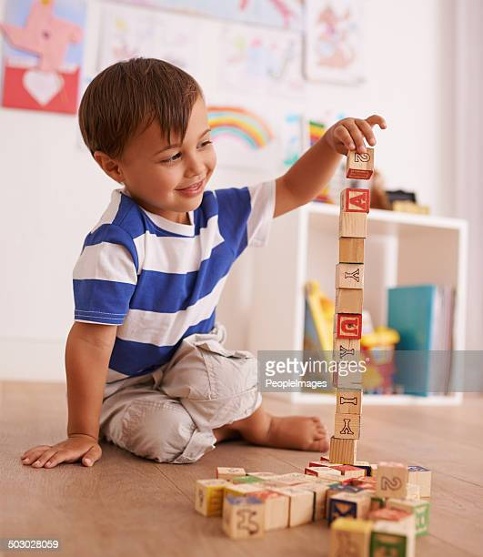 Who needs a beanstalk when you have blocks?!