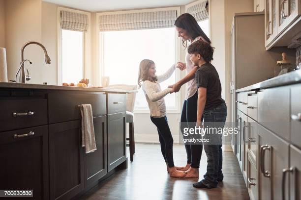Wer braucht ein Tanz Etage, wenn Sie eine Küche haben?