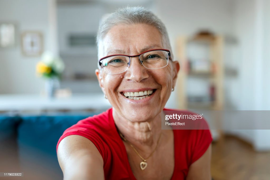 Who said selfies are just for the youth? : Stock Photo