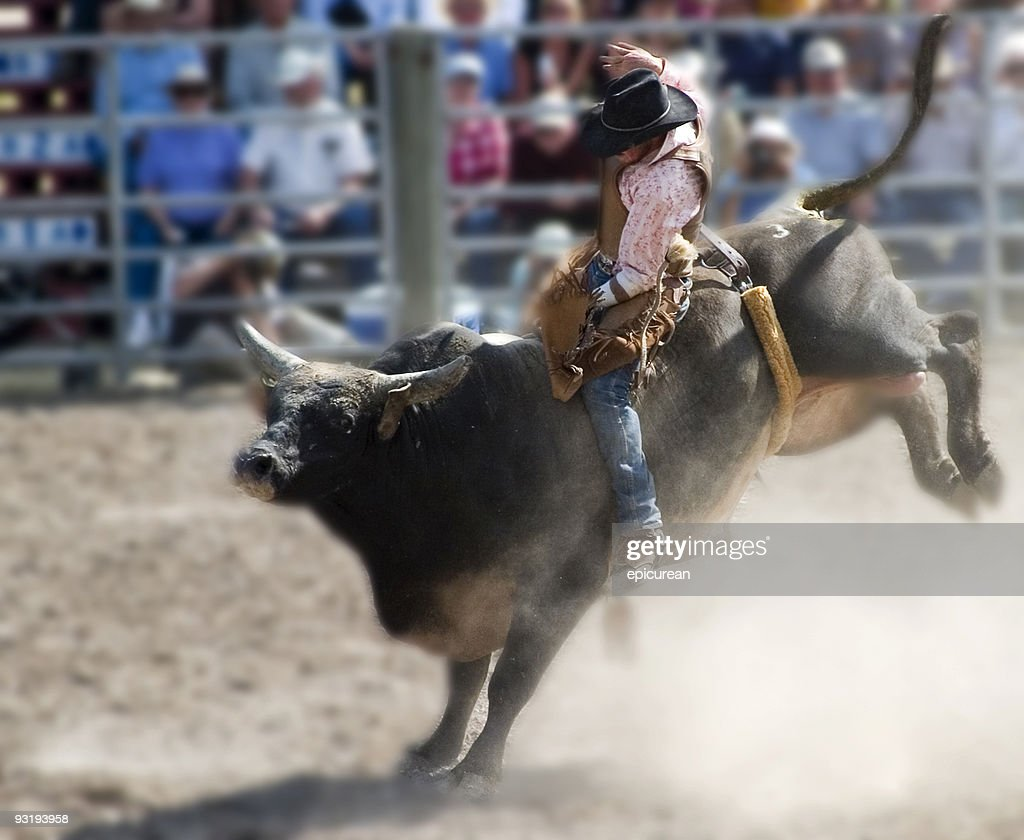 Who says cowboys can't wear pink? : Stock Photo