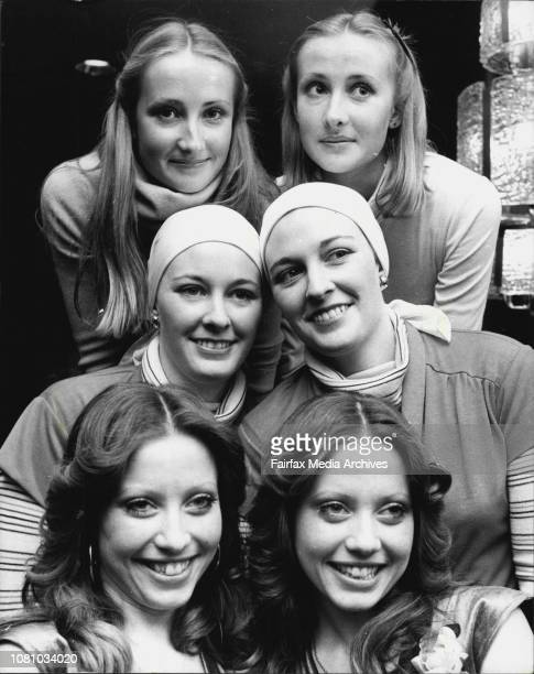 Who Will Be The Toni Twins Of 1977 Some of the identical twins who were interviewed at the Hilton Hotel today Left to right Top to bottom Virginia...