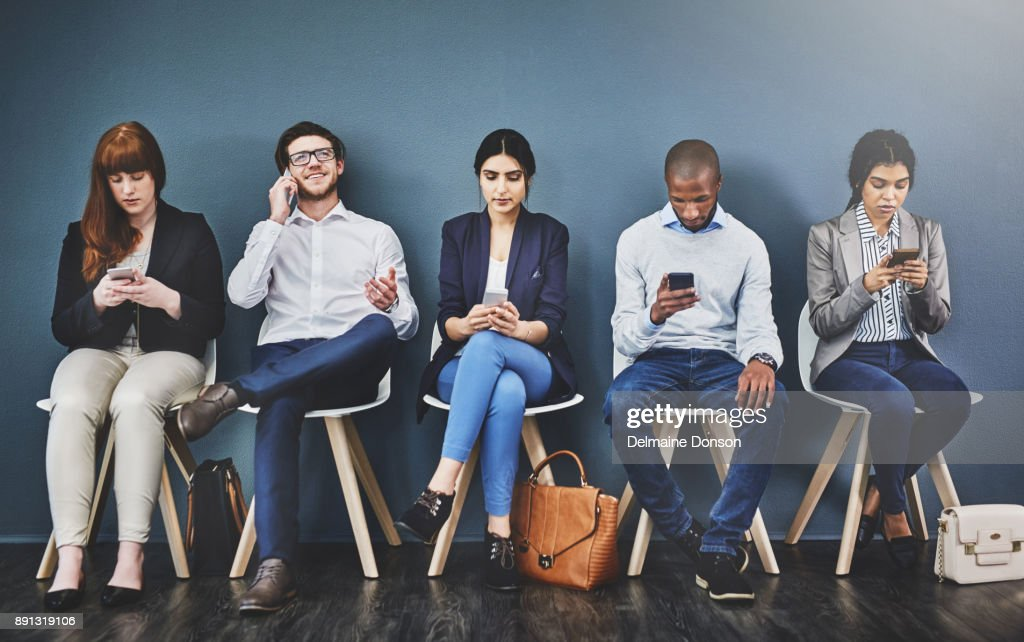Who will get the job? : Stock Photo