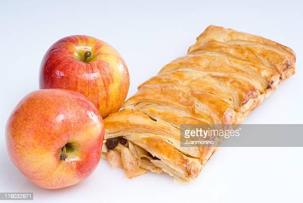 Ensemble de strudel aux pommes