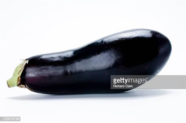 Whole aubergine