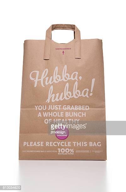 Toute Aliments 100 % papier recyclé boutiques