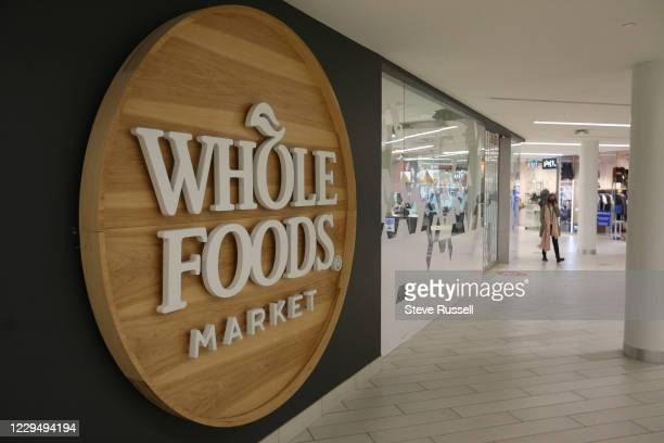 Whole Foods grocery chain bans employees from wearing poppies, a symbol of remembrance does not conform to dress code in Toronto. November 6, 2020.