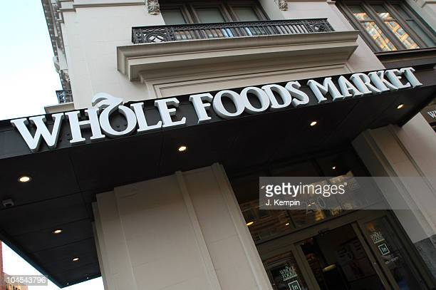 Whole Foods Market at 250 7th Avenue during Whole Foods Exteriors December 7 2005 in New York City New York United States