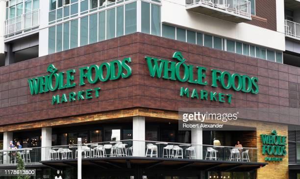 Whole Foods Market in downtown Denver, Colorado.