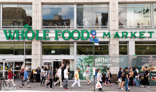 Whole Foods Market in Union Square in New York City.