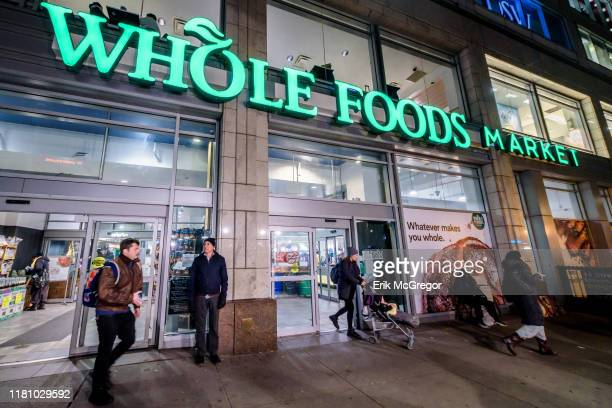 Whole Foods Market store front at Union Square.