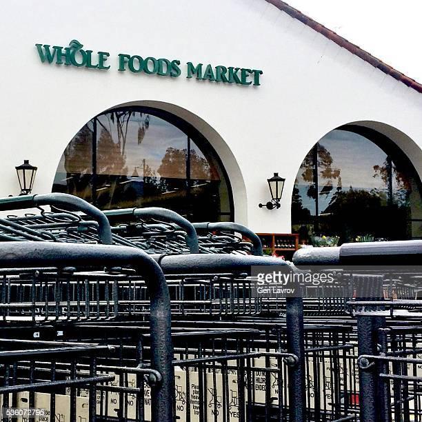Whole Foods Market storefront sign