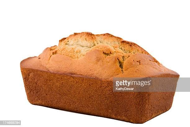 whole loaf of banana bread series - banana loaf stockfoto's en -beelden