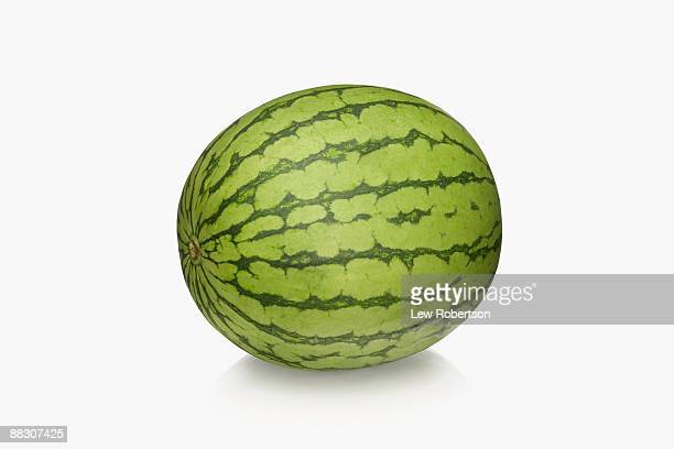 whole watermelon - watermelon stock pictures, royalty-free photos & images