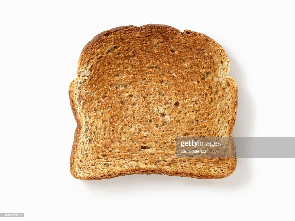 Whole Wheat Toast with Natural Drop Shadow- Photographed on Hasselblad H3D2-39mb Camera