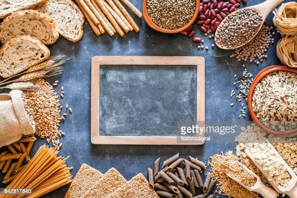 Wholegrain and dietary fiber food border