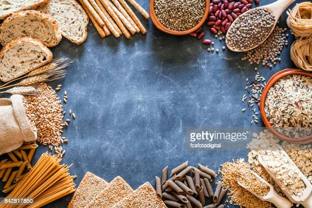 Wholegrain and dietary fiber food border