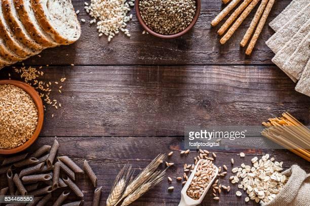 Vollkorn-Lebensmittel-Grenze