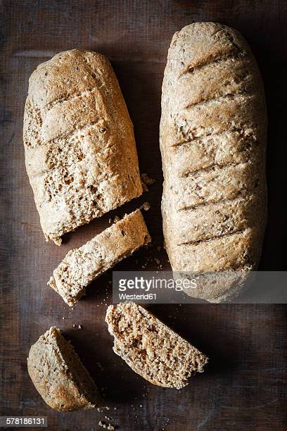 Wholemeal spelt baguettes