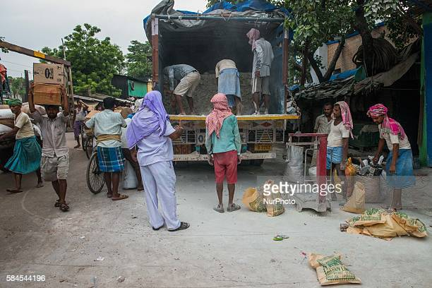 Wholesale market in Kolkata, India, Friday, July 29, 2016.