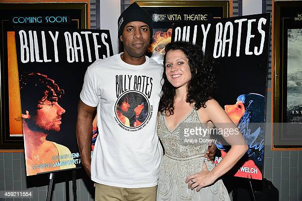 Whoo Kid and Jennifer DeLia attend the BILLY BATES LA Premiere Directed By Jennifer DeLia Starring James Wirt And Savannah Welchl Produced By Julie...