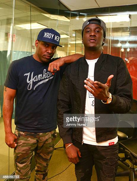 DJ Whoo Kid and K Camp invade The Whoolywood Shuffle at SiriusXM Studios on May 6 2014 in New York City