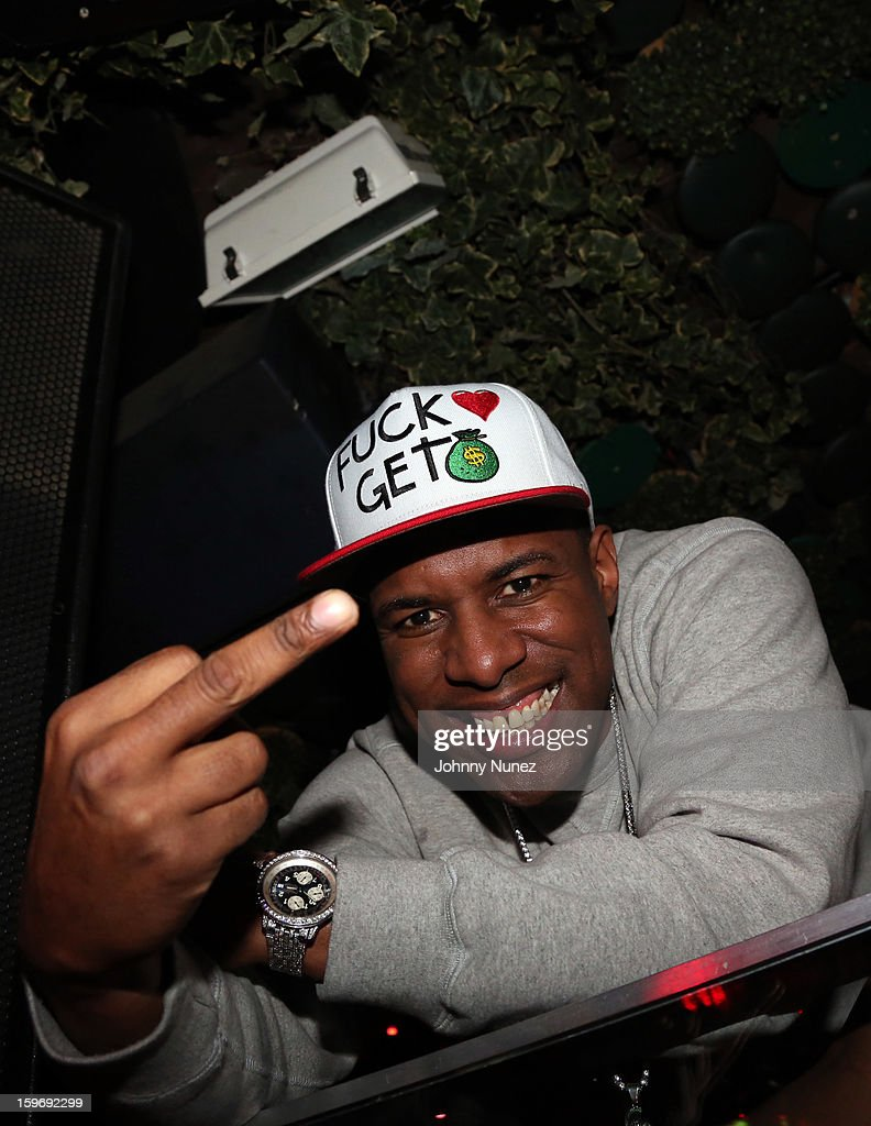 DJ Whoo Kid attends Barry Mullineaux's Birthday Party at Greenhouse on January 17, 2013 in New York City.