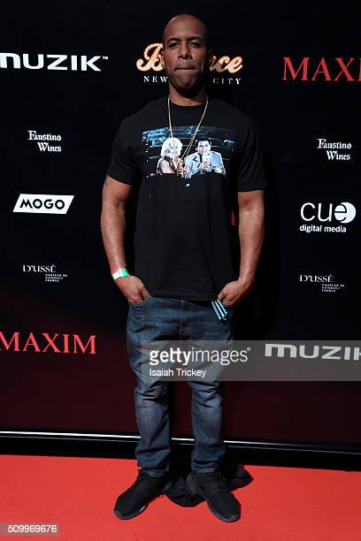 Whoo Kid attends the 2016 NBA AllStar Weekend Maxim Party at Muzik on February 12 2016 in Toronto Canada