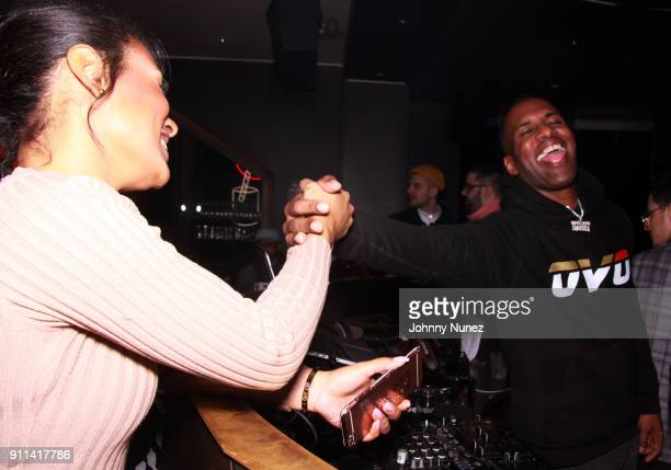 Whoo Kid attends the Lexy Panterra PreGrammy Party at W Hotel Times Square on January 27 2018 in New York City