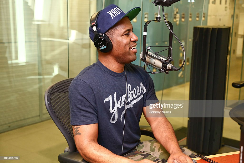 DJ Whoo Kid hosts 'The Whoolywood Shuffle' at SiriusXM Studios on May 6, 2014 in New York City.