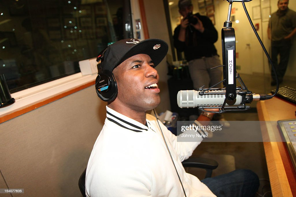 DJ Whoo Kid hosts 'The Whoolywood Shuffle' at SiriusXM Studios on October 8, 2012 in New York City.