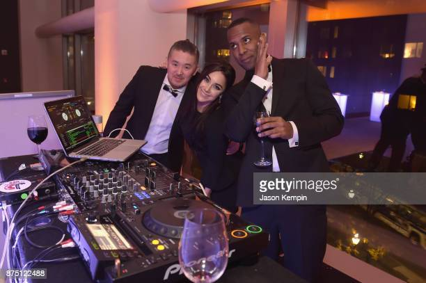 """Whoo Kid with Nicole Adamo and guest during """"A Magical Evening"""" Gala hosted by The Christopher & Dana Reeve Foundation a at Conrad Hotel on November..."""