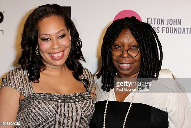 Whoopi Goldberg and Alex Martin arrive at the 22nd Annual Elton John Academy Awards Viewing Party to benefit the Elton John Aids Foundation
