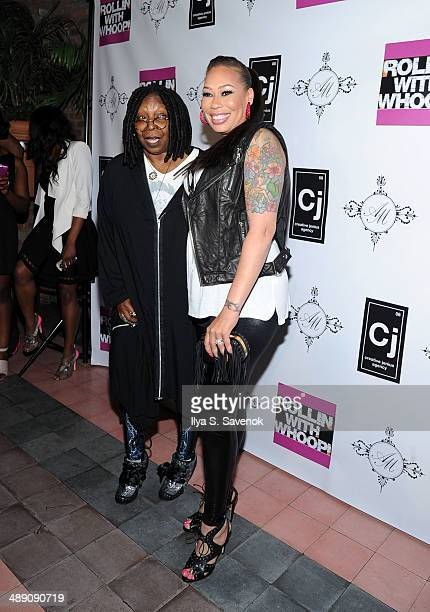 Whoopi Goldberg and Alex Martin attend Alex Martin's 40 And Fly Birthday Celebration at The Bowery Hotel on May 9 2014 in New York City
