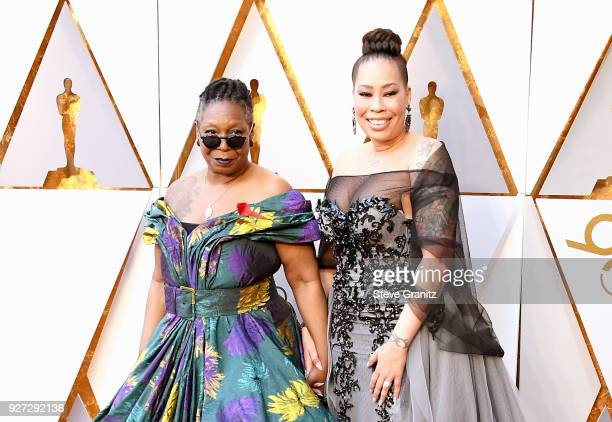 Whoopi Goldberg and Alex Martin attend the 90th Annual Academy Awards at Hollywood Highland Center on March 4 2018 in Hollywood California