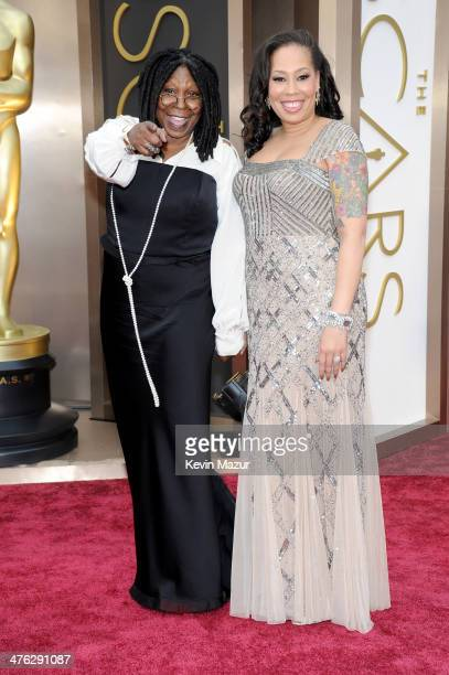 Whoopi Goldberg and Alex Martin attend the Oscars held at Hollywood Highland Center on March 2 2014 in Hollywood California